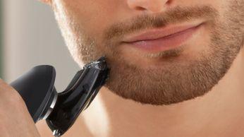 Perfilador de barba de fácil montaje con 5posiciones