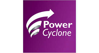 PowerCyclone-teknologi for maksimal ytelse