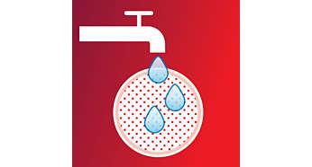 Uzun süreli performans için yıkanabilir köpük filtre