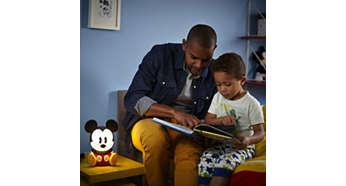 Idealne światło do czytania bajek na dobranoc