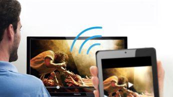 Miracast ile Full HD içeriği kablosuz olarak görüntüleyin