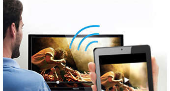 Wirelessly view Full HD content with Miracast