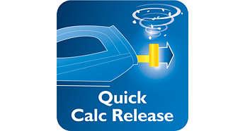 Система быстрой очистки от накипи Quick Calc Release для сохранения более длительной подачи пара