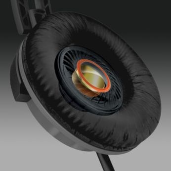 32 mm garsiakalbių pagrindiniai įrenginiai atkuria dinamišką ir galingą garsą