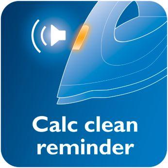 Kireç temizleme zamanını sesle ve ışıkla hatırlatan Kireç Temizleme sistemi