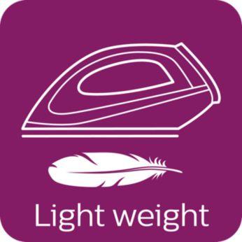 Dimensiuni compacte şi greutate redusă pentru depozitare uşoară