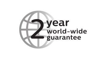 With 2 year guarantee