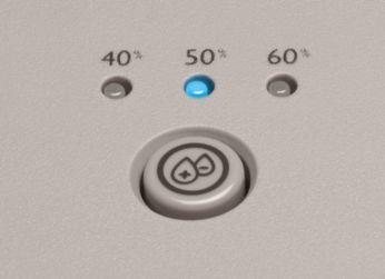 3-step humidity setting