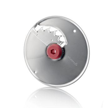 Большой металлический диск XL для нарезки картофеля фри