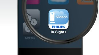 In.Sight+ app available on Apple Store