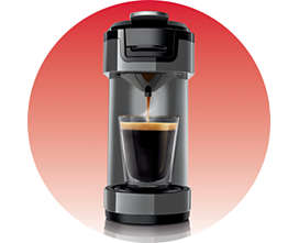 philips senseo up hd7884 30 kaffeepadmaschine titanium ebay. Black Bedroom Furniture Sets. Home Design Ideas