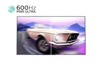 600 Hz PMR Ultra HD voor vloeiende bewegende beelden