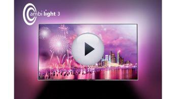 Совершенно новые впечатления от просмотра благодаря фоновой подсветке Ambilight