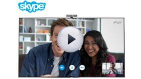 Видеозвонки через Skype на ТВ*