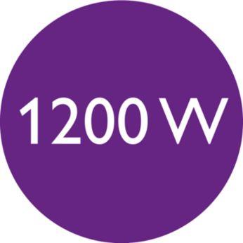 Мощность 1200Вт для бережной сушки