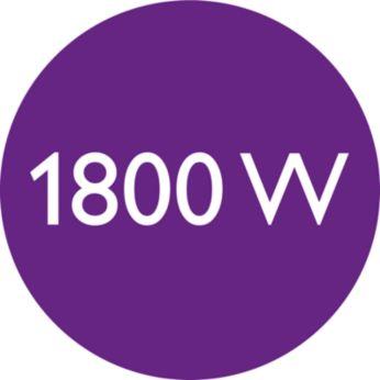 1800 W за идеални резултати при сушене