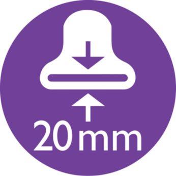 Узкая насадка-концентратор для направленного потока воздуха