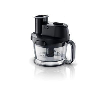 Malzeme doğramak, dilimlemek, parçalamak için mutfak robotu
