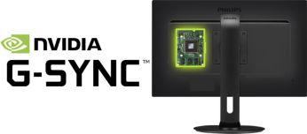 Sorunsuz ve hızlı oyun deneyimi için NVIDIA G-SYNC™