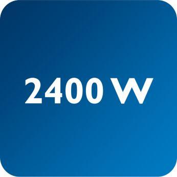 2400 W για γρήγορη θέρμανση του σίδερου