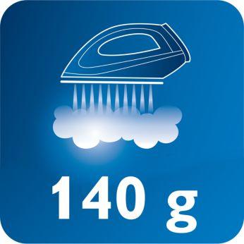 Garų padidinimas iki 140 g