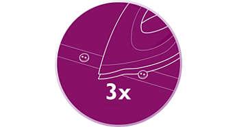 Optimum kontrol ve görünürlük için üçlü hassas uç
