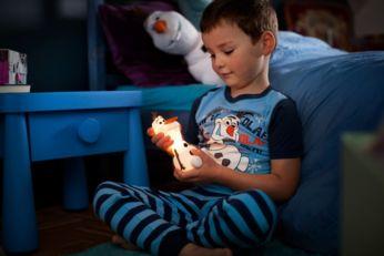Acompaña a tu hijo por la noche