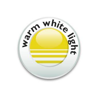 Hřejivé bílé světlo