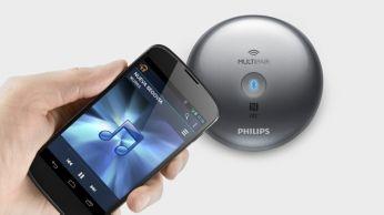 """""""Bluetooth"""" susiejimas su NFC vienu palietimu"""