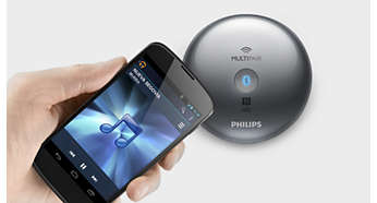One-Touch-Bluetooth®-Kopplung mit NFC