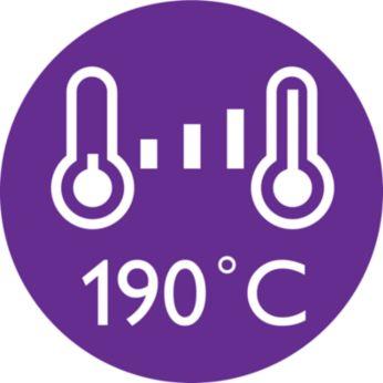 190C styling temperature