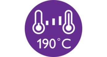 190C styling temperature