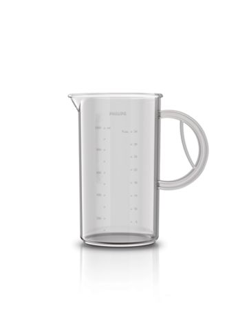 Beaker 1200ml for blending, whisking and mixing.