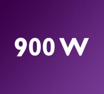 Võimas 900 W mootor tagab alati konkurentsitud tulemused