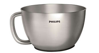 4L metal bowl for upto 1300gms of dough