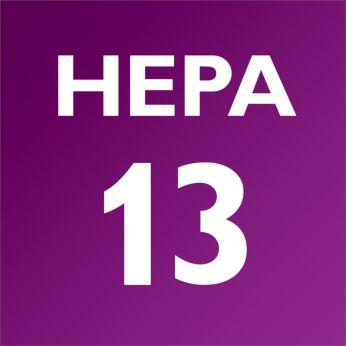 Фильтры HEPA AirSeal и HEPA 13 удерживают до 99,95% пыли