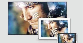 Funkce Miracast & DirectShare pro sdílení filmů a hudby vtelevizoru