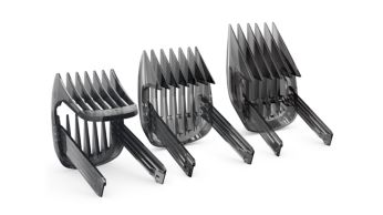 Adjustable hair combs for the best clipping results