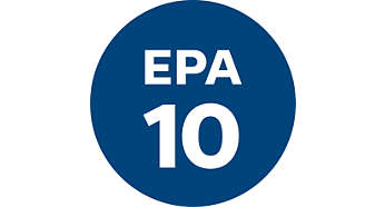 EPA10 filter system with AirSeal for healthy air