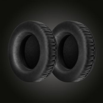 Twist-and-click detachable easy replacement ear cushions