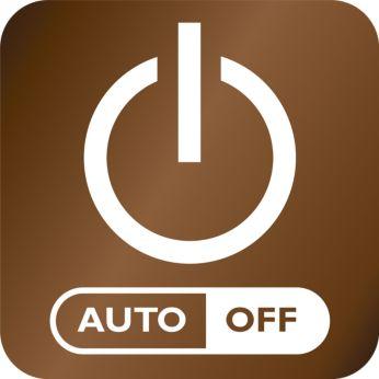 Oprire automată pentru o siguranță sporită și un consum redus de energie