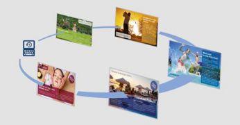 SmartInfo pentru pagini cu informaţii interactive, de marcă, pentru mediile medicale