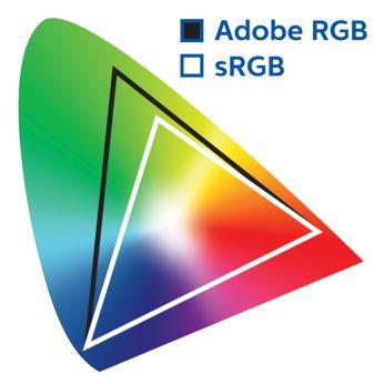 Профессиональные цветовые стандарты: 99% AdobeRGB, 100% sRGB