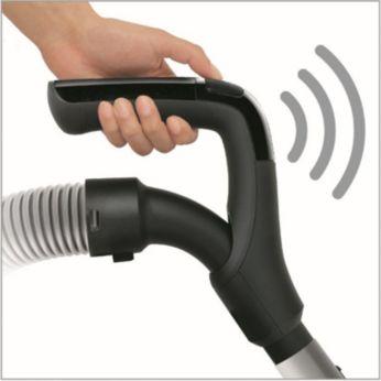 Telecomandă cu tehnologie wireless IR, astfel încât nu mai trebuie să te apleci
