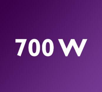 Ισχυρό μοτέρ 700 W για τέλεια ανάμειξη