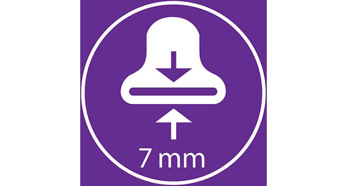 Στόμιο φορμαρίσματος 7 mm για τέλειο φορμάρισμα