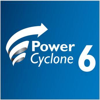 Havayla tozu olağanüstü bir performansla ayıran PowerCyclone 6