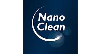Etrafı kirletmeden toz boşaltma için NanoClean Teknolojisi