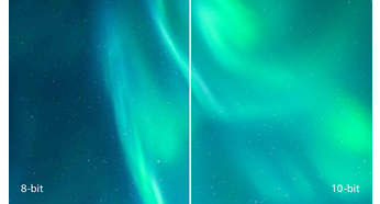 1.074 billion colors for smooth color gradations and detail