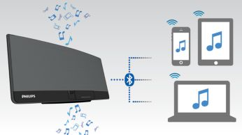"""Transliuokite muziką per """"Bluetooth®"""" su kelių prietaisų susiejimo funkcija"""